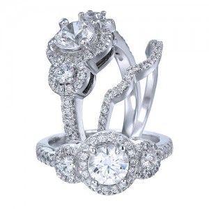 Costar diamond engagement rings and bridal sets