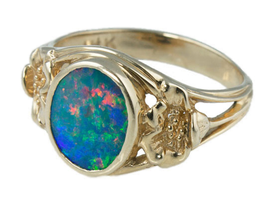 Four Winds Jewelry Opal Ring